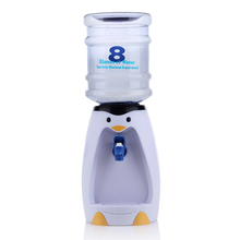 Penguin water dispenser ChanLengXing eight glasses of water with no heat Mini cute 2 litres water machine capacity