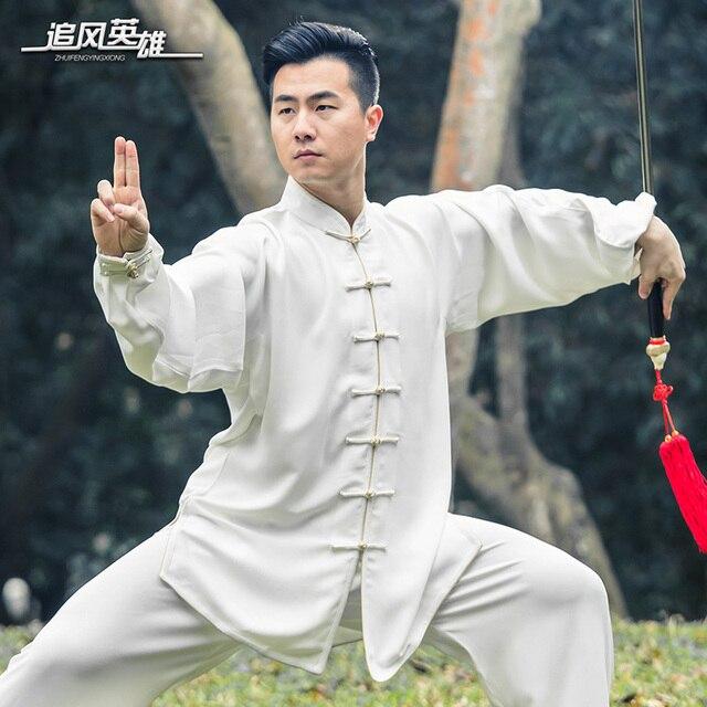 Весна и лето в тай-чи одежды хлопок одежды одежда старые боевые искусства упражнения Тайцзицюань мужчина одежда