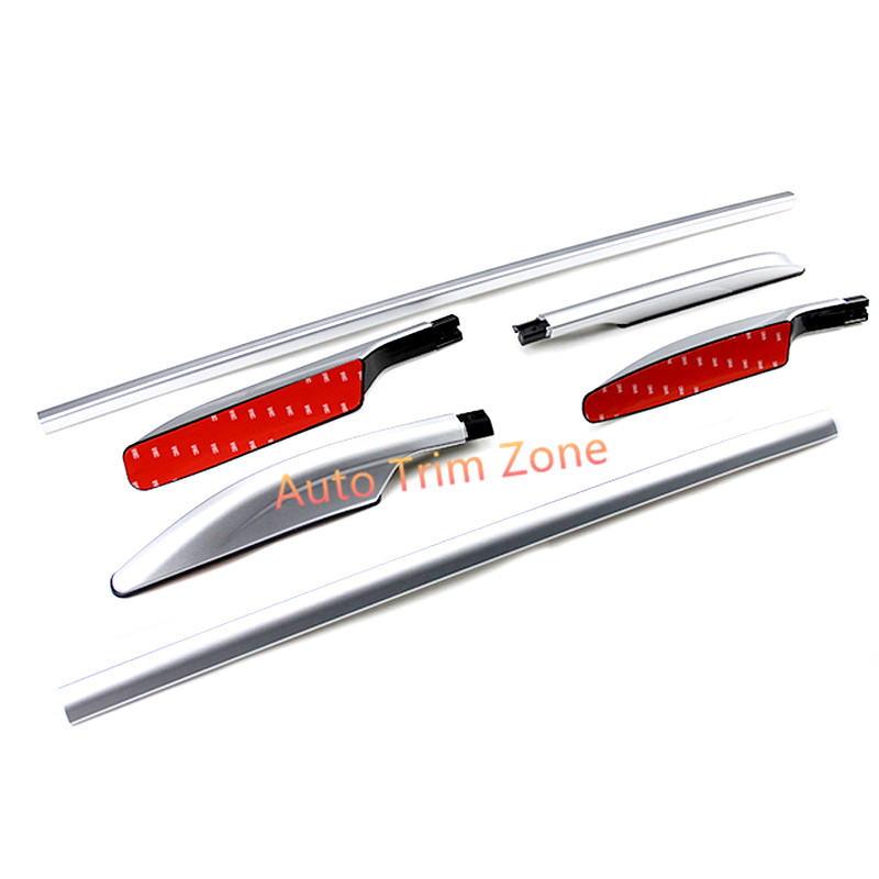 Roof Rack Side Rails Luggage Carrier Bars Aluminium Alloy For nissan Rogue X Trail 2014 2017
