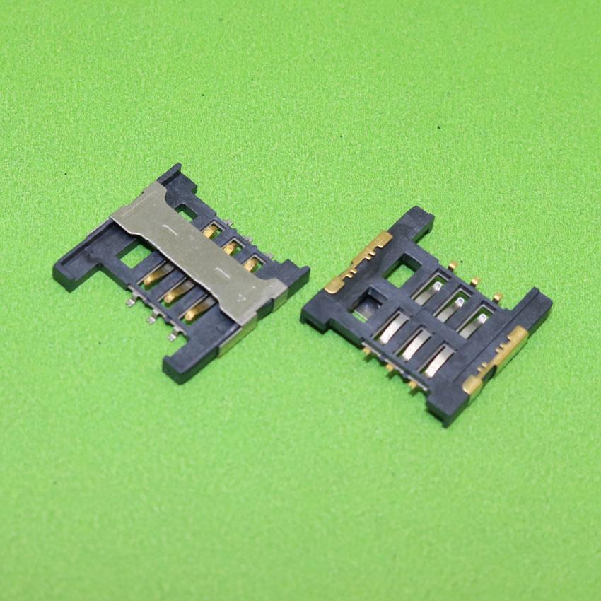 ChengHaoRan Brand New Sim card socket Memory card tray slot holder module for cell phone,KA-288