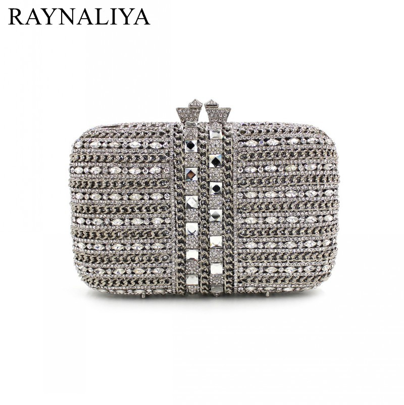 2017 Limited Promotion Minaudiere Fashion Women Evening Bags Ladies Wedding Party Clutch Bag Crystal Diamonds Bags Smyzh-e0132 women luxury rhinestone clutch beading evening bags ladies crystal wedding purses party bag diamonds minaudiere smyzh e0193 page 8