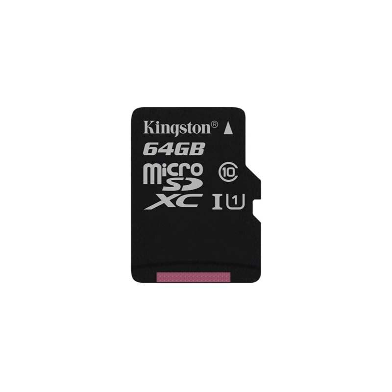 Kingston Technology Canvas Select Micro Sd Card 64gb Microsd Memory Card Uhs 1 Class10 Flash Card Microsdxc Tfsd Cards 64gb