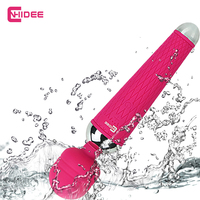 Powerful Vibrator for Woman oral clit Adult Sex Toys Personal Massager Magic Wand AV G Spot Waterproof Rechargeable Massage [49