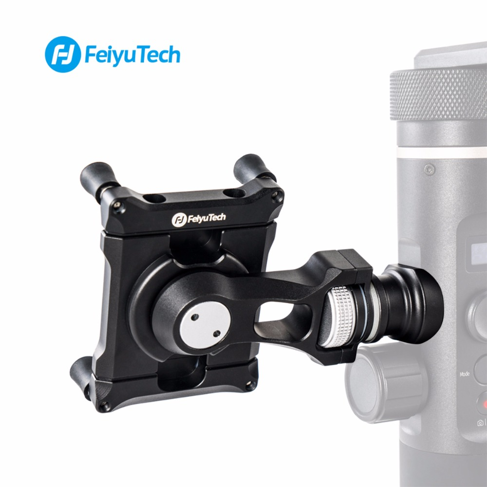 Feiyu Mobile Phone Holder Mount Bracket Clip Adapter for Feiyu SPG2 G6 G6plus G5 Action Camera Gimbal Clamp Holder for iPhone X 1piece 3m vhb 5952 heavy duty double sided adhesive acrylic foam tape black 150mmx100mmx1 1mm