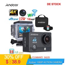 Andoer Q3H-R Action Camera Q3H-R wifi Ultra HD Mini Cam 4K/30FPS 170D Underwater Waterproof 30m Video Sports Action Camera