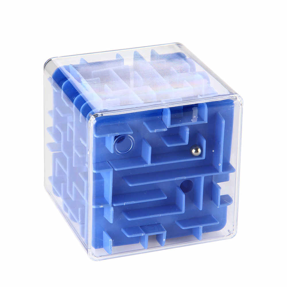 GT 3D лабиринт Волшебные кубики забавные шар-лабиринт игрушки Мини-пазл Скорость куб игрушка антистресс Образовательные Подарки для детей и взрослых