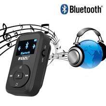 Mini Clip MP3 RUIZU X26 MP3 player Bluetooth 8GB Sport Mp3 Music Player Recorder FM Radio Support SD Card mp3 Music player