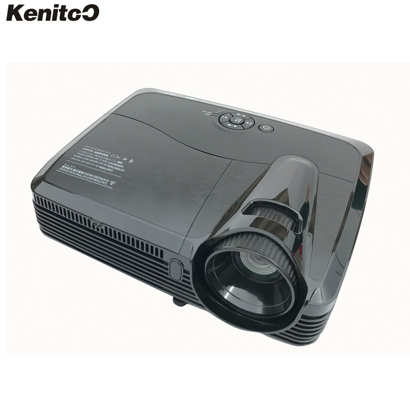 HD DLP Projector 1280*800 Native Resolution 4200 ANSI Lumens Home Theater/Business/Education Daytime Use Projector Free Shipping