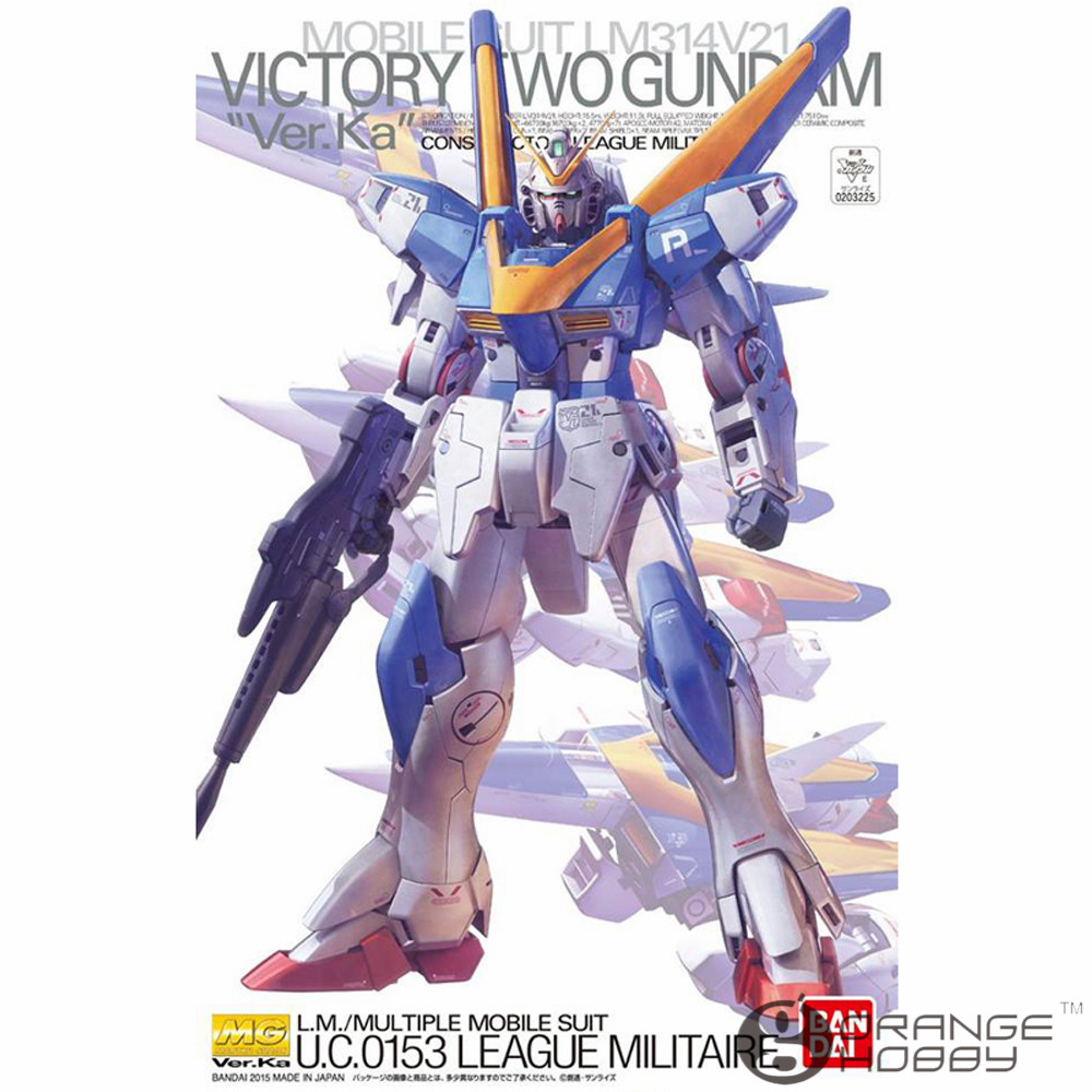 OHS Bandai MG 191 1/100 LM314V21 V2 Gundam Ver.Ka Mobile Suit Assembly Model Kits купить