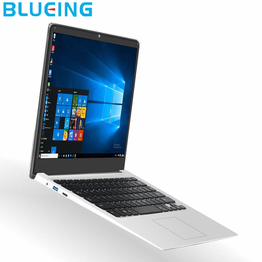 14.1 Inch Ultra-slim Laptop 2GB 32GB SSD Intel Z8350 HD 1920*1080  Windows 10 WIFI Bluetooth Notebook Computer  Free Shipping