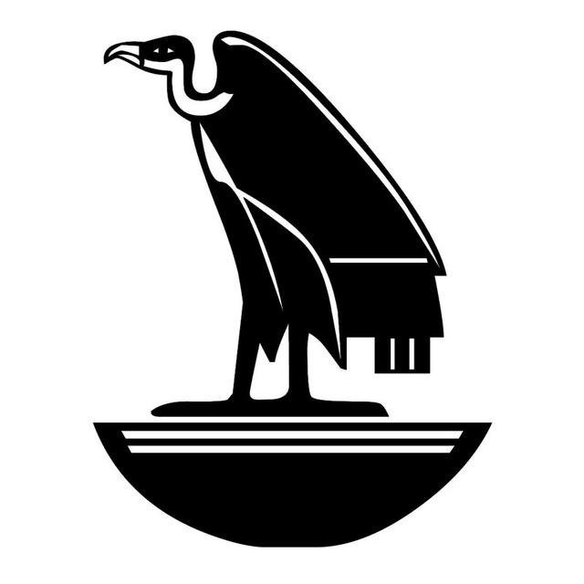 118152cm Ancient Egyptian Symbol Eagle Car Stickers Cool Vinyl