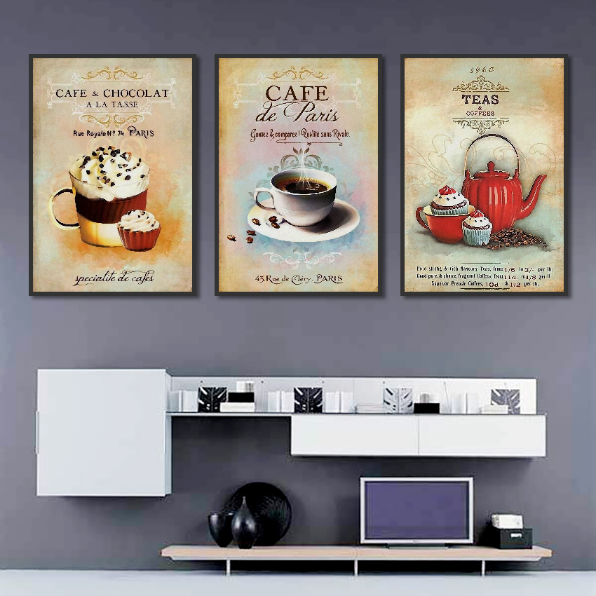 Nordic-Poster-Vintage-Modern-Minimalist-Coffee-Dessert-Canvas-painting-Abstract-Home-Decoration-Kitchen-Wall-Pictures-Unframed (3)