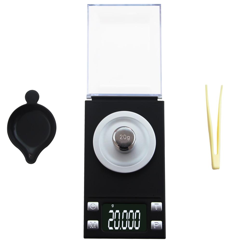 Balance à bijoux numérique LCD de haute précision, poids de laboratoire, utilisation médicinale, Mini électronique Portable, 0.001g