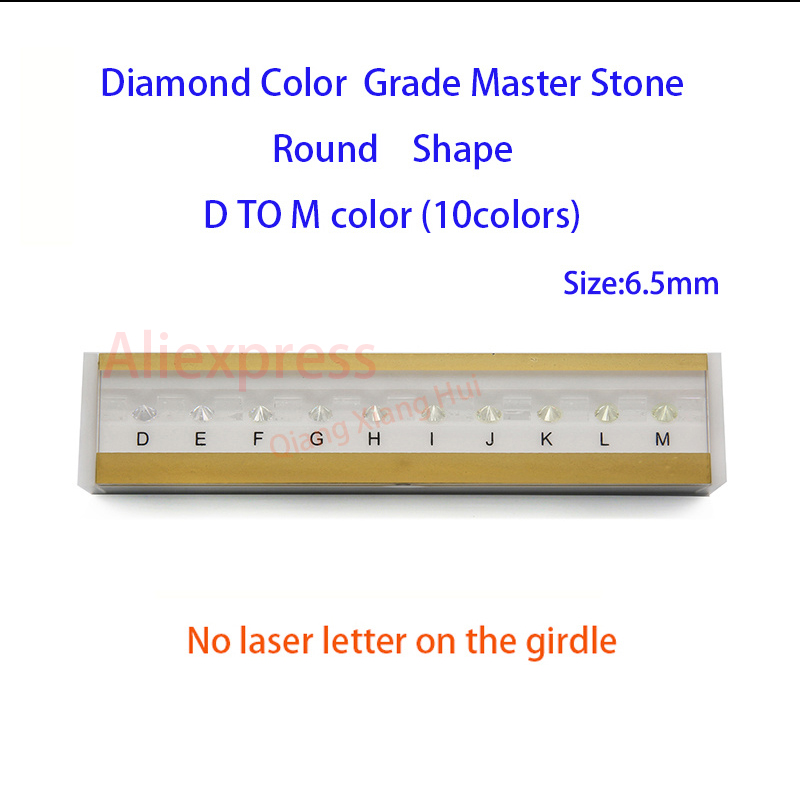 Image 2 - The specifications of  diamond weight cz master and D To M white Color round shape with laser Cubic Zirconia stone Tester Tools-in Jewelry Tools & Equipments from Jewelry & Accessories