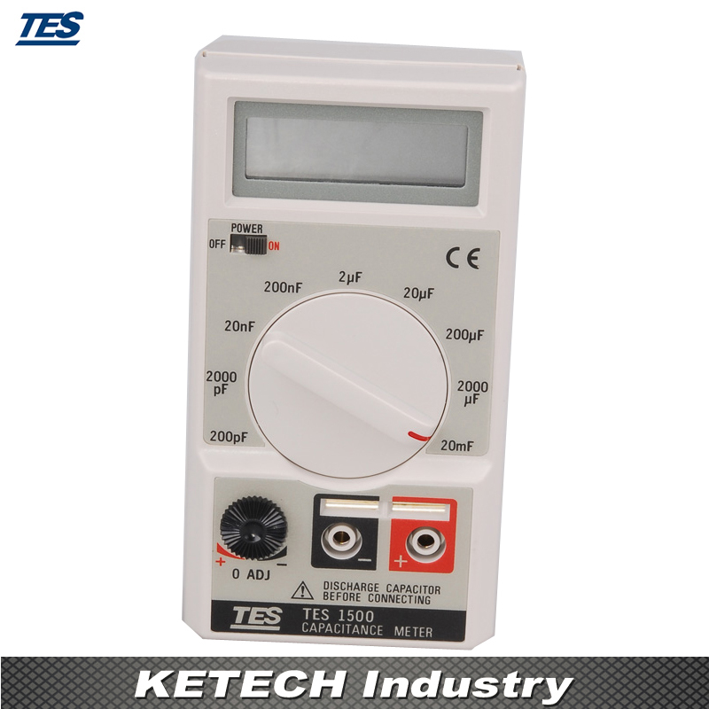TES-1500 Capacitance Meter Tester mary tes w15102142288