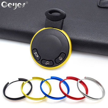 Ceyes Hot Car Styling Key Protector Rings Case For Bmw Mini Cooper E60 E39 E36 E30 X5 R56 Covers Aluminum Alloy Auto Accessories image