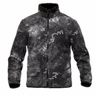 Shanghai Story Men Thicken Warm Military Army Fleece Jacket WindProof Tactical Reversible Cardigan Jacket