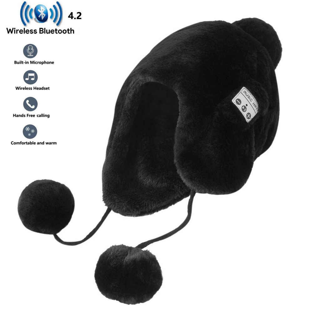954a0801d7f81 Detail Feedback Questions about 2018 Update Bluetooth 4.2 Smart Caps Unisex  Wireless Beanie Musical Hat with Speaker Mic Winter Warm Cap Headset  earphone on ...