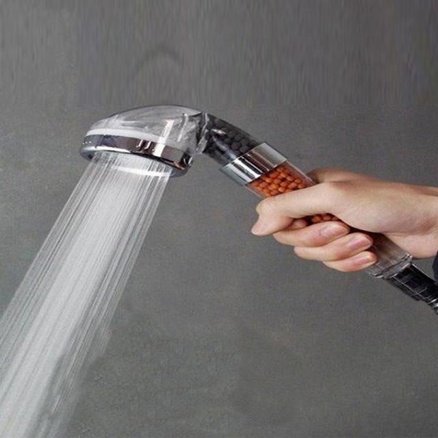 Showerhead SPA Water saving Anion Shower Heads Faucet Filter ...
