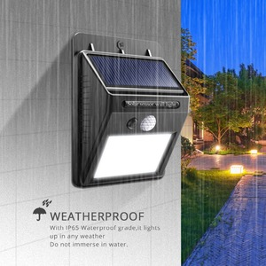 Image 5 - Night Light 100 35 20 LED พลังงานแสงอาทิตย์โคมไฟสวน PIR Motion Sensor + LIGHT Sensor ควบคุมโคมไฟติดผนังพลังงานแสงอาทิตย์โคมไฟกลางแจ้ง