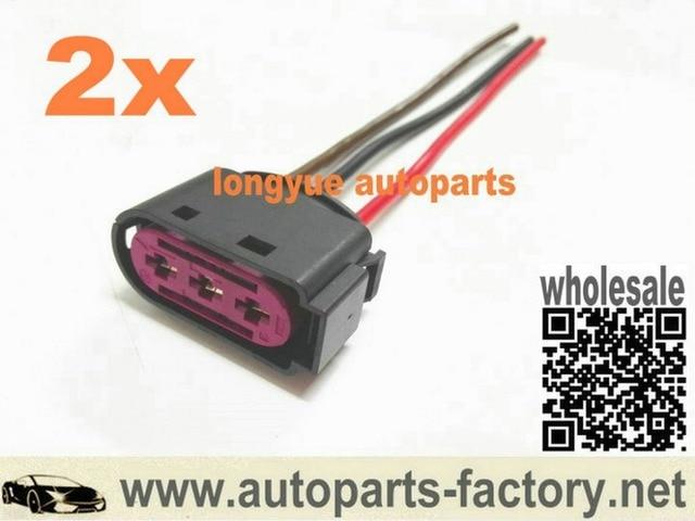 longyue 2pcs 3 way pin oem fuse box connector plug 1j0 937 773 for rh aliexpress com