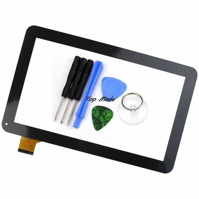 Новый 10.1 дюймов Черный/Белый Сенсорный Экран для Ирбис TZ21 TZ22 3 Г Таблетки Дигитайзер Замена Датчика Бесплатная Доставка