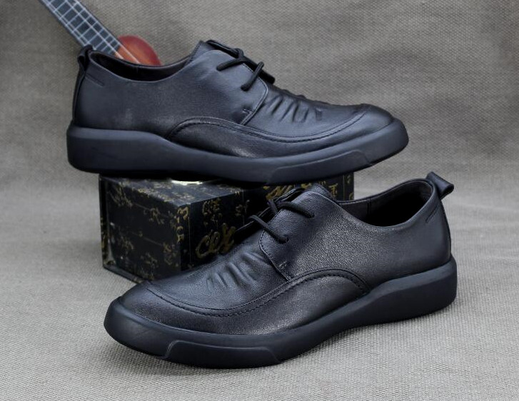 Spring Soft Breathable Business Casual Shoes Mens Soft Leather Foreign Trade Mens Shoes Tail Single Leather First Layer ShoesSpring Soft Breathable Business Casual Shoes Mens Soft Leather Foreign Trade Mens Shoes Tail Single Leather First Layer Shoes
