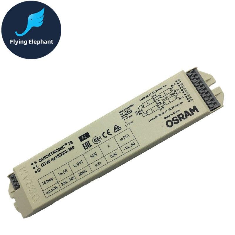 цена 198-264V AC 1X18W 2X18W 4X18W 1X36W 2X36W Wide Voltage T8 Electronic Ballast Fluorescent Lamp Ballast