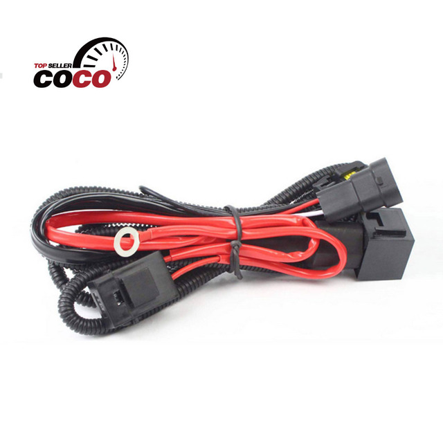 Hid Xenon 12v Fuse Relay Wiring Harness HID Cables For H1 H8 H9 H11 9005 9006_640x640 aliexpress com buy hid xenon 12v fuse relay wiring harness hid Electrical Harness Connectors at n-0.co
