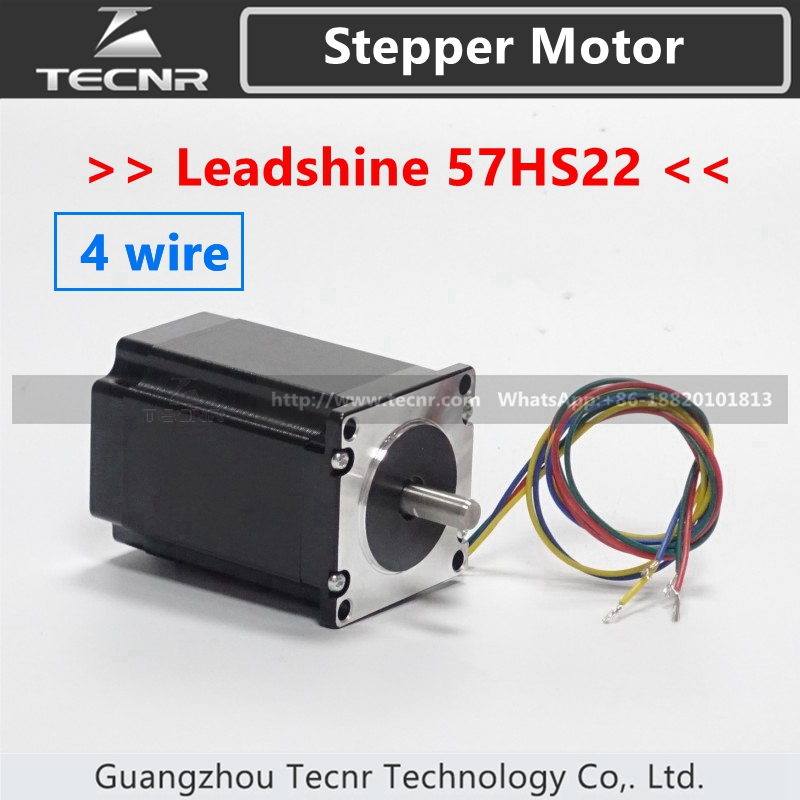 Leadshine 2 phase 57HS22-A Stepper Motor 57HS22 NEMA23 with 2.2Nm torque 5.6A Length 81mm Shaft 8mm винный шкаф caso wineduett touch 21