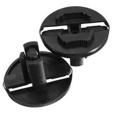 2Pcs Black Headlight Fastener Clip For Mercedes Benz W124 300CE 300TE E420 E320 E300 E500 260E 300E 400E 500E 300D