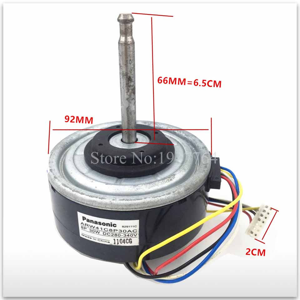 95% new used for Original air conditioner motor ARW41C8P30AC = ARW51G8P30AC DC motor good working used original 95