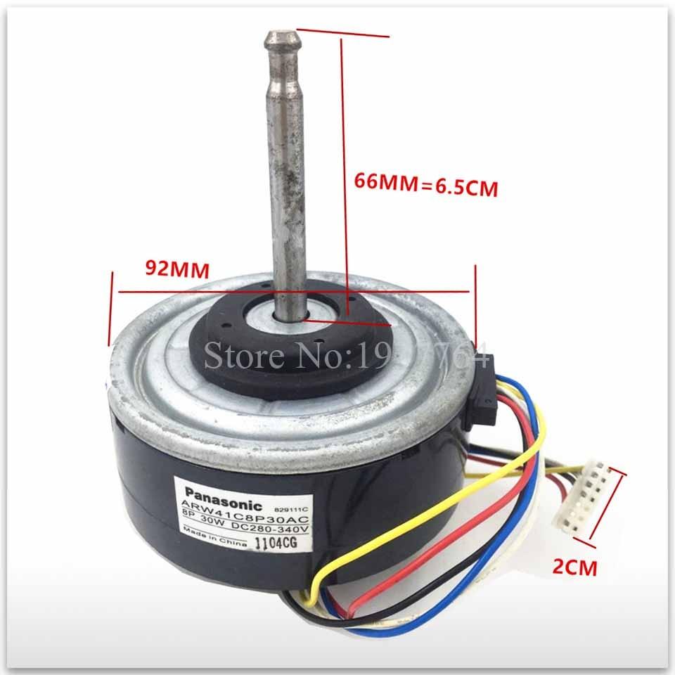 цена на 95% new used for Original air conditioner motor ARW41C8P30AC = ARW51G8P30AC DC motor good working