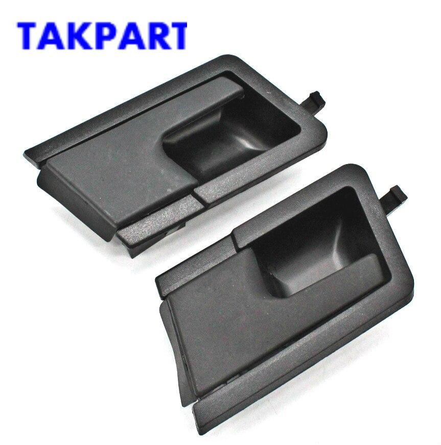 TAKPART для VW T4 90-02 транспортер спереди внутренняя интерьер дверные ручки правой RH Новый