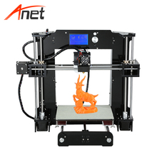 Anet A6 Top Quality High Precission 3d House Printer 16GB SD Card as Gift 22*22*25cm Build Volume Stampante 3d Single Color