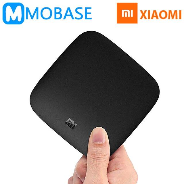 [공식 국제 버전] xiaomi mi 상자 3 안드로이드 6.0 tv 상자 2 그램/8 그램 듀얼 와이파이 kodi 스마트 tv iptv 미디어 플레이어 상자