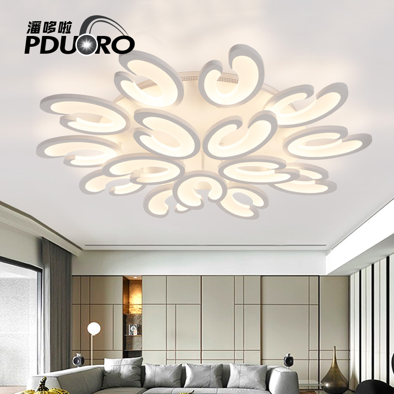 New modern led chandelier for living room bedroom dining room aluminum body Indoor home 85-265V chandelier lamp lighting fixture led modern lighting living room dining room led lamp bedroom chandeliers girl child chandelier e27 220v