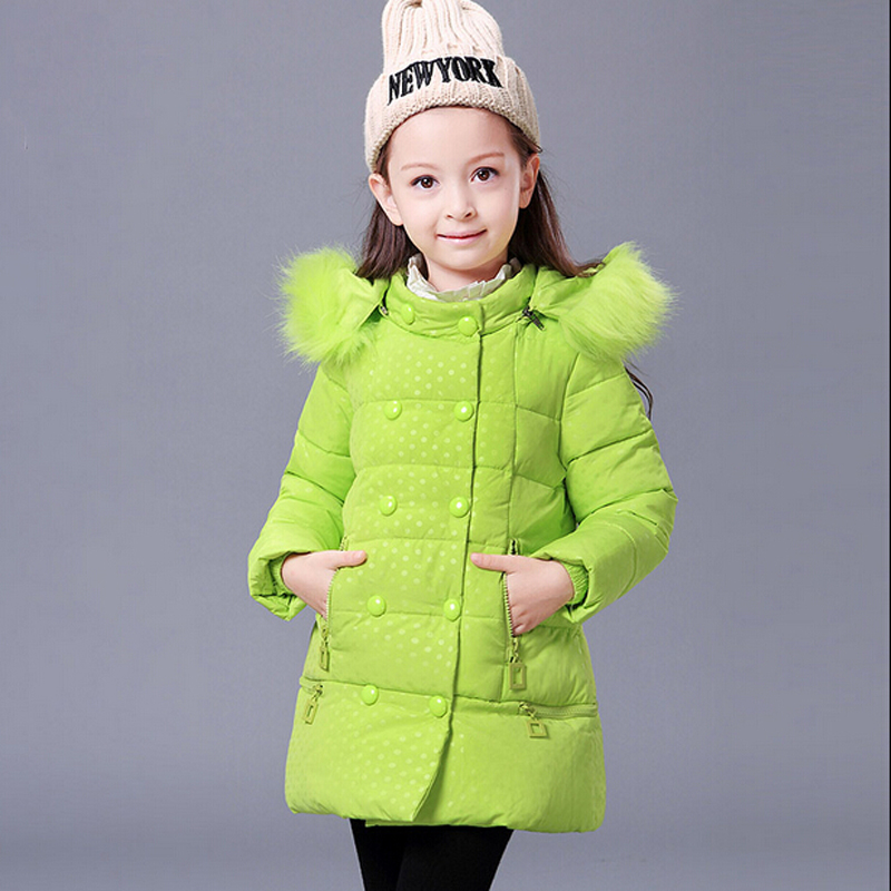 Children's Winter Down Coats Jackets Kids Girls Thicken Down Coat ...