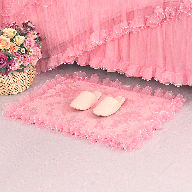 Small Large Pink Rug Cerise Runners Sparkle Modern Thick: Small Pink Rug