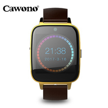 Cawono S9 Smart Watch 1.54 Fitness Tracker Bluetooth Handsfree Support Sim Card Music Smartwatch Multilingual for IOS Android