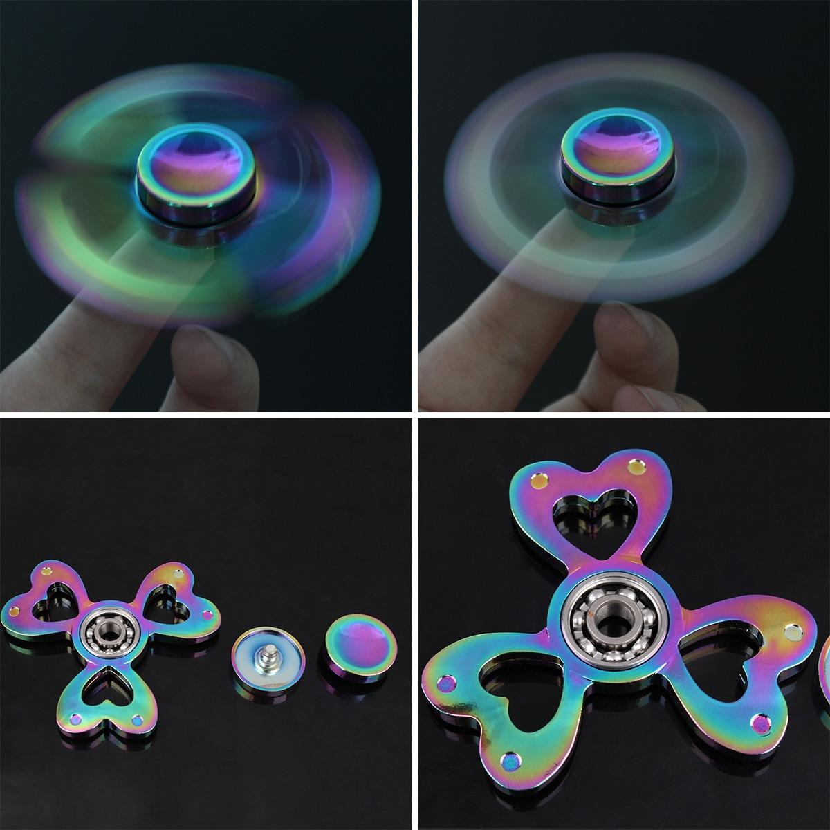 hand spinner Coeur Rainbow