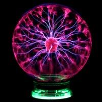 Magic PLASMA BALL RETRO LIGHT 3 4 5 6 Inch Novelty Lights Gift Box Lighting Light