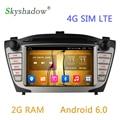 2G RAM Android 6.0.1 Car DVD Player GPS Navi For Hyundai Ix35 2009 2010 2011 2012 2013 2014 2015 Radio Video Capacitive Wifi 4G