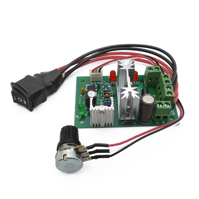 DN Reversible 6V-30V 6A Pulse Width PWM DC Motor Speed Controller Governor 88 WWO66 цена