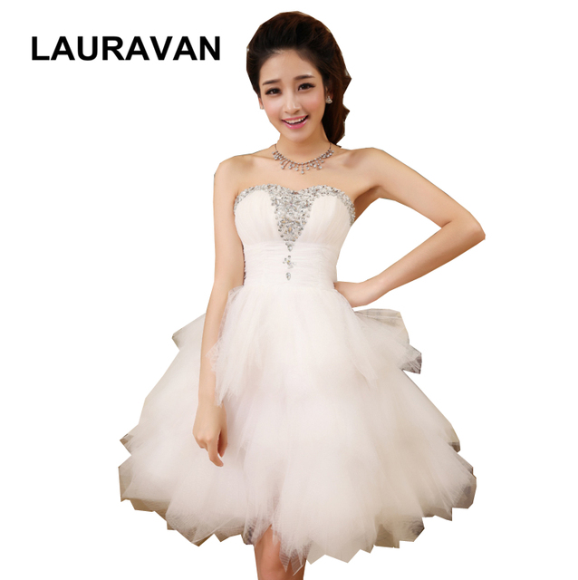 ivory strapless brides maid princess girls bridemaid party ball dress for teen  elegant teenage bridesmaid dresses free shipping 2348a005053a