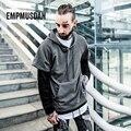 Men Hoodies Kanye West Hip Hop Men Sweatshirt Hoodie Patchwork Hoodies & Sweatshirts Casual Hooded Jackets Male sudaderas hombre