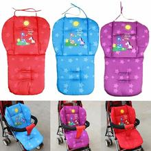 Baby Carriage Cotton Pad Stroller Child Prams Pushchair Mat Padding Seat Pushchair Cushion nappy pad for stroller accessories цена 2017