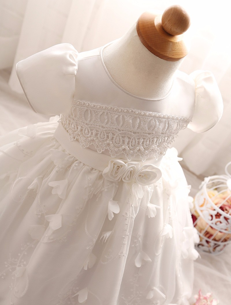 Baby Girls Dress 2016 New Fashion Kids Princess Birthday Party Tulle Wedding Dresses Christmas Dress Newborn Infant Clothes 0-2Y-8