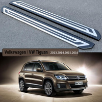 VW Tiguan Running Boards Auto Side Step Bar Pedals For Volkswagen VW Tiguan 2013 2014 2015
