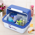 Clear Cover Baby Bottles Stand Clamshell Bin Baby Bottle Drying Rack Store Drying Rack Cutlery Boxes
